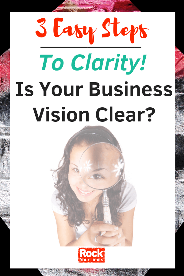 Business Vision - Are You Clear - 3 Easy Steps to Clarity