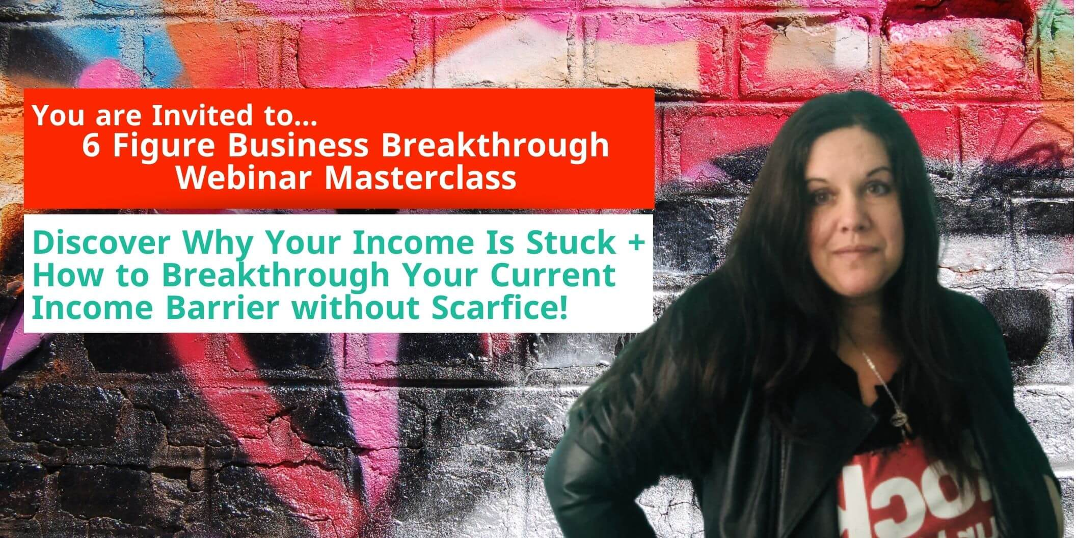 how to use affirmation properly blog post 6 figure business webinar invite