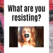 mindset hacks - what are you resisting