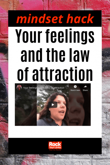 Your feelings and the law of attraction